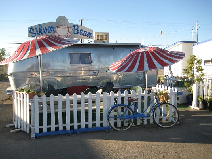 If you are ever in Cortez Co stop by!:  Carrousel, Picket Fence,  Merry-Go-Round,  Whirligig,  Roundabout, Beans Airstream, Carousels, Silver Beans, Mr. Beans