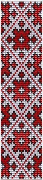 Схемы прямого плетения(ткачество)   759 фотографий