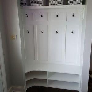 Entryway closet nook