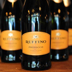 Ruffino Prosecco - one of my favs...make a pear martini with this, fresh lemon juice, simple syrup, Grey Goose Pear vodka and St. Germain = delicious!