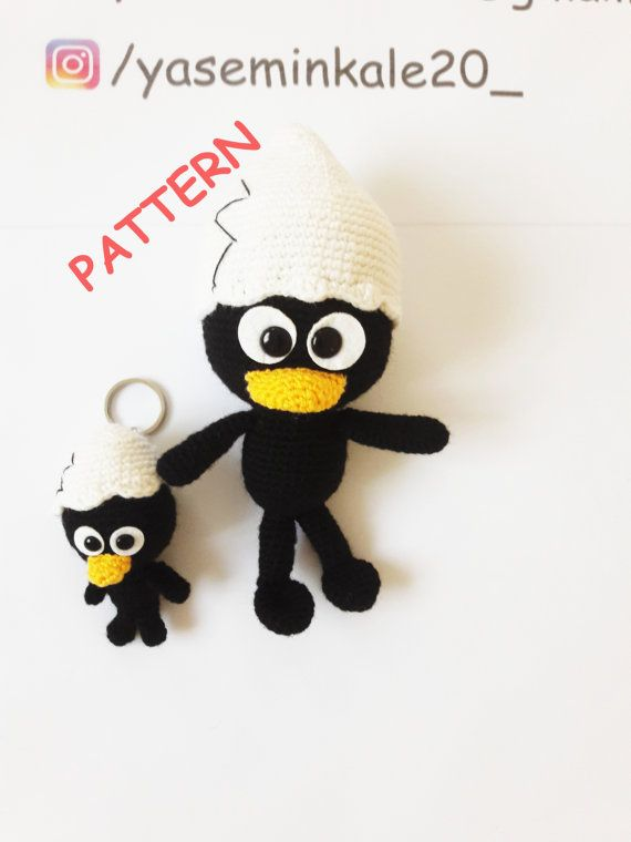 Hey, I found this really awesome Etsy listing at https://www.etsy.com/listing/457755442/amigurumi-calimero-pattern