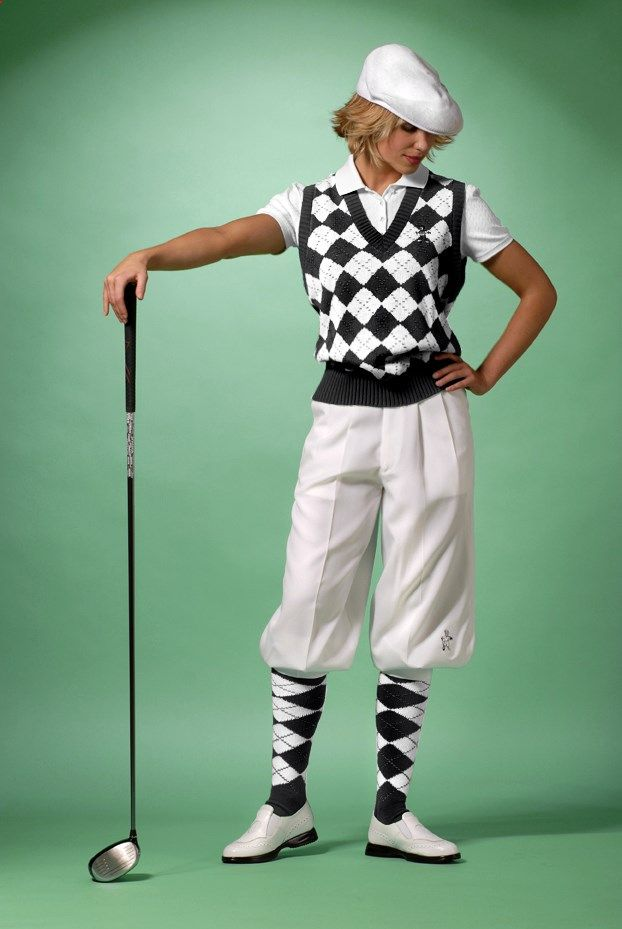 Golf Knickers - Wish I could look this snazzy in such a goofy outfit.