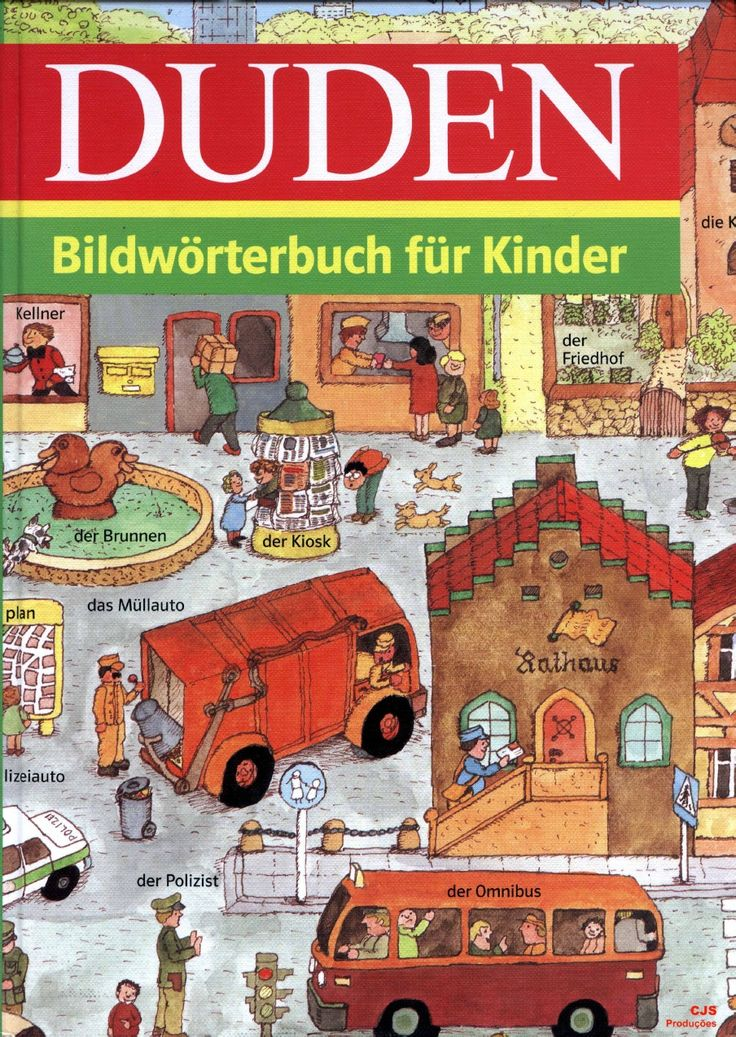 Deutsch - DUDEN Bildworterbuch Fur Kinder WOW, super, excelente!