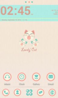 Download free Lovely Cat Clock For Android Theme Mobile Theme HTC mobile theme. Downloads hundreds of free Dream,Magic,Hero,Bravo,Legend,Desire,Wildfire,Aria,Desire Z,HD7,Gratia,Incredible S,Salsa,ChaCha,HD7S,Sensation,DROID Incredible 2,Status,Jetstream,Sensation XE,Sensation XL,DROID Incredible 4G LTE,Butterfly S themes to your mobile.