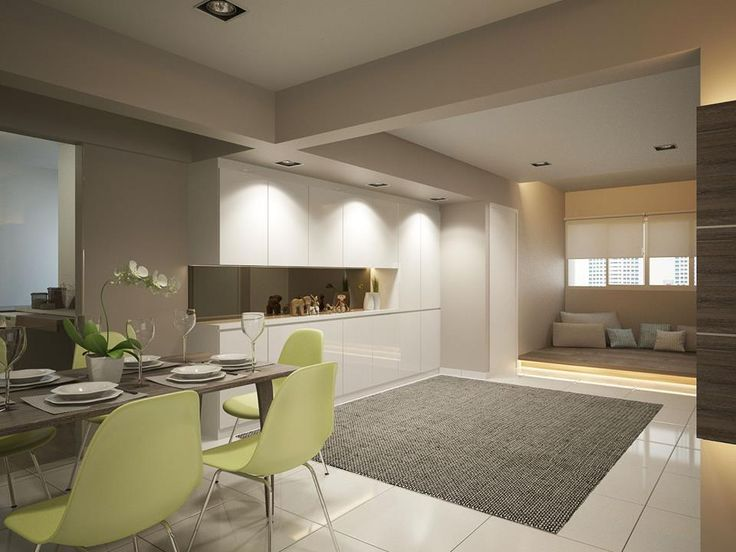 The goal for the designer in the apartment is simple, visually enhance the rooms and make them as practical and as functional as they can be. By creatively arranging the furniture, the designer has achieved the latter, while neutral colors are used for visual enhance...
