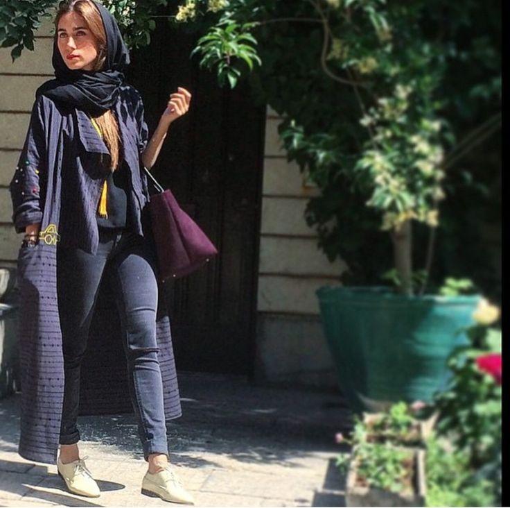 Street style # iran # iranian #fashion