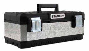 Stanley 195619 Boîte à outils en métal galvanisé 58 cm (Import Grande Bretagne)