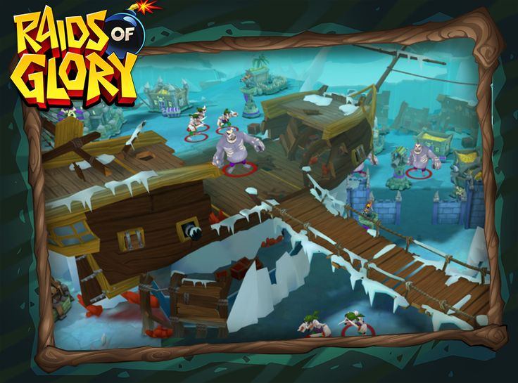 Do it harder, better, stronger in new Raids of Glory hard levels! The ice theme is very alluring!
