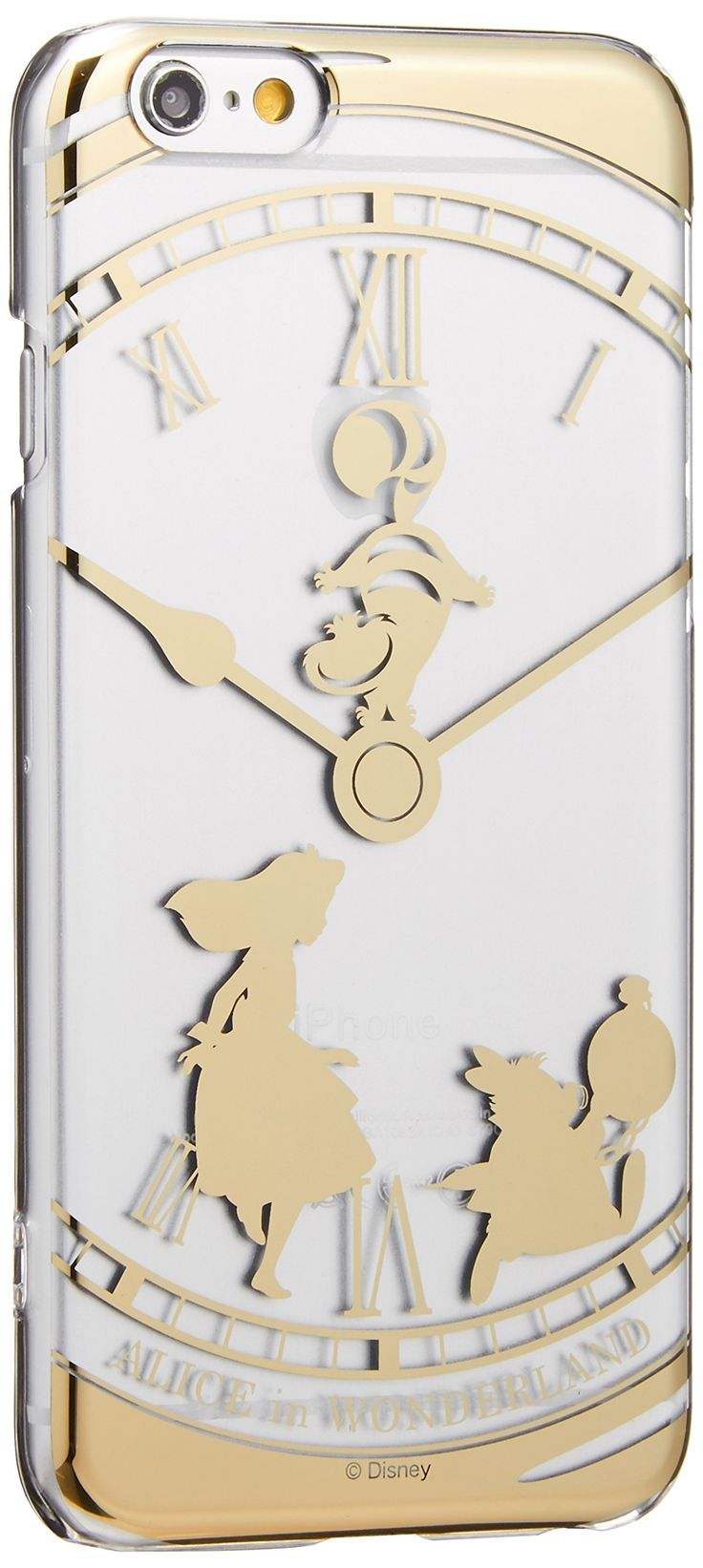 Amazon.com: iPhone 6 (NOT 6 Plus) Clear Case - Disney - Alice in Wonderland: Cell Phones & Accessories