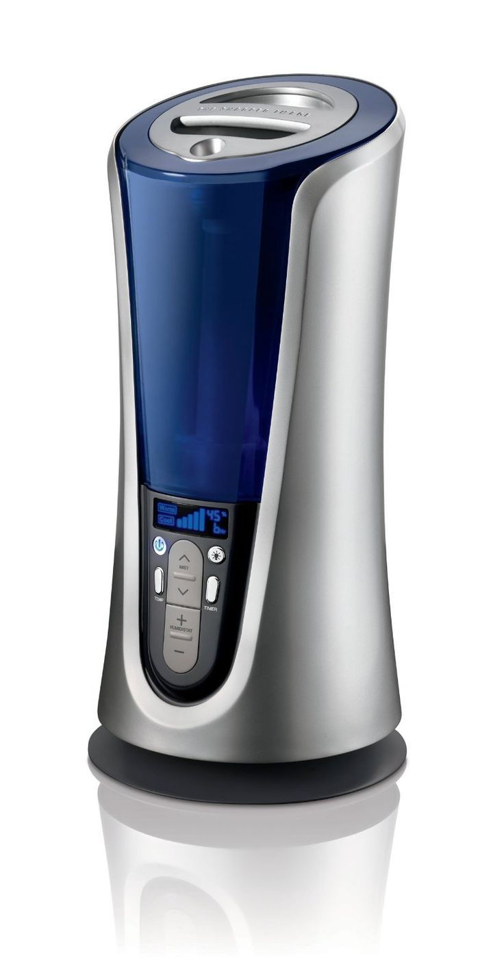 Amazon.com: The Sharper Image EVSI-HD40 Warm and Cool Mist Ultrasonic Tower Humidifier, Silver: Home  Kitchen
