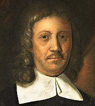 Van Riebeeck - die eerste kommandeur aan die Kaap, wat van 6 April 1652 tot sy vertrek op 1 Mei 1662 die eerste blanke nedersetting in Suid-Afrika gegrondves het. Daar is historici wat reken dat dit die eintlike beeltenis van Van Riebeeck is.