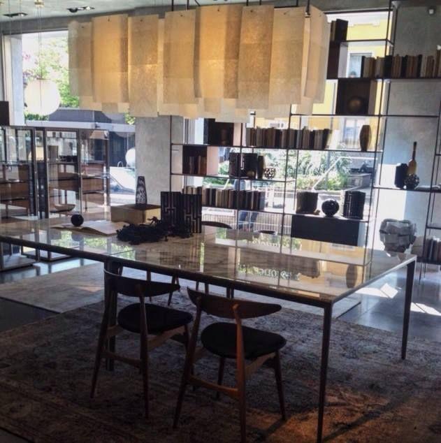 #alexandra, at #Rimadesio showroom for #iSaloni