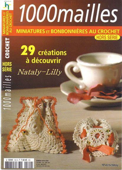"""""""1000 maillles"""" miniatures et bonbonnieres au crochet. Обсуждение на LiveInternet - Российский Сервис Онлайн-Дневников"""