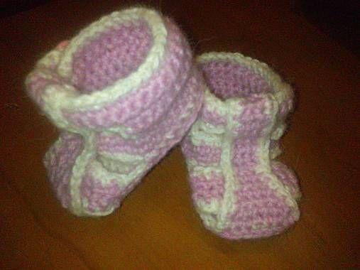 Lydahandmade / sandálky pre dievčatká