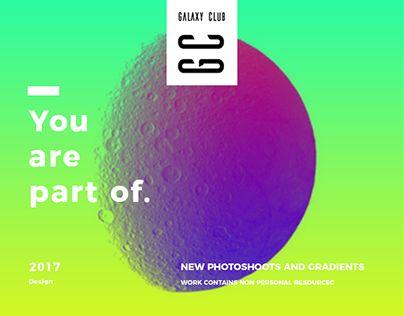 Galaxy Club ( Brand Concept / Web Design)