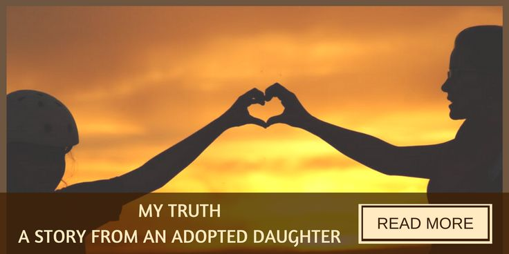 There are two side to every story. This is the story of what growing up as an adopted child is like.