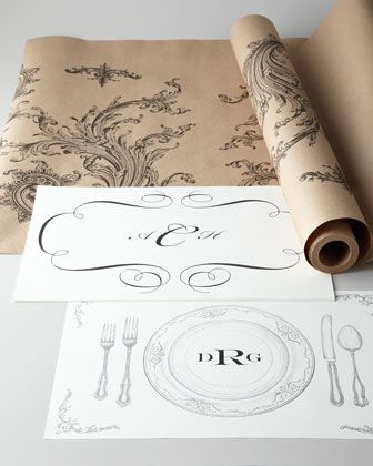 Gallery For Cake Vintage Placemats