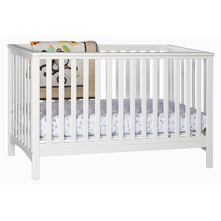 Stork Craft Hillcrest 4 In 1 Convertible Crib