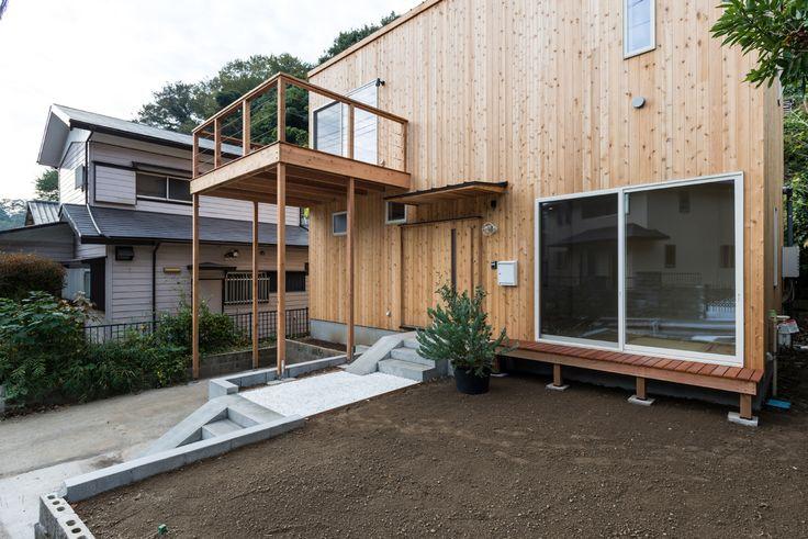 ENJOYWORKS/エンジョイワークス/スケルトンハウス/skeletonhouse/facade/ファサード/サッシ色ホワイト/2017年グッドデザイン賞