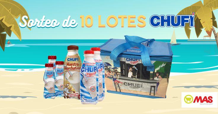 ¿Te gustaría ganar un lote #Chufi? ¡Participa y demuestra lo que sabes de la horchata! #Promo #Sorteo @SupermercadoMAS