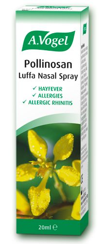 Pollinosan Luffa Nasal Spray - Cleansing action against hayfever-causing pollen and other allergens - Also suitable in protecting against allergic rhinitis - Can be used with other hayfever remedies 20ml - £7.50