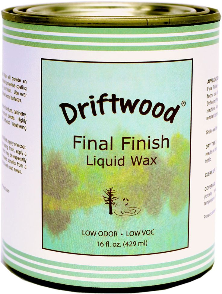 16 oz. Pint Size. Use Driftwood Final Finish Liquid Wax to preserve the look of…
