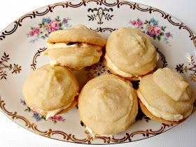 Milk and Honey: Passionfruit Melting Moments • country women's association CWA • recipe for these biscuits at this blog • CWA Australia