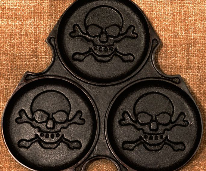 Skull And Crossbones Pancake Mold                                                                                                                                                                                 More