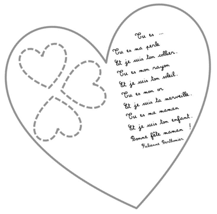 Poèmes fêtes des mères