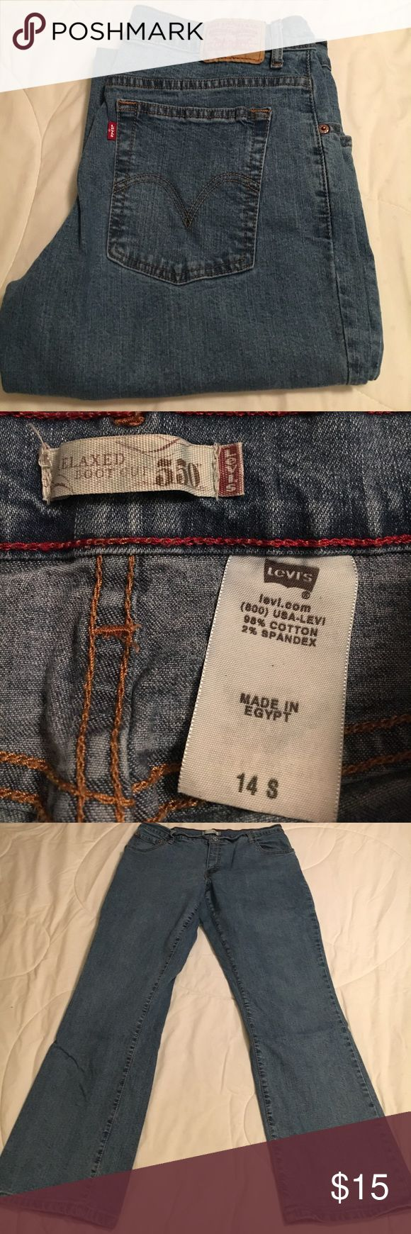 """Levis 550 Relaxed Bootcut Jean Levis 550 Relaxed Bootcut Jean with Approx 29"""" Inseam Levi's Jeans Boot Cut"""