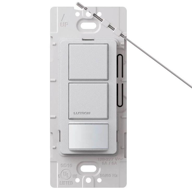 17 best ideas about light sensor circuit electrical lutron ms ops6 ddv maestro 6 amp 120 volt single pole dual circuit motion