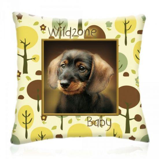Wild Zone Baby Tacskó díszpárna #díszpárna#kutyás