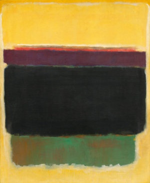 """Untitled, 1949   Mark Rothko   National Gallery of Art   This painting will also be part of the exhibit, """"Mark Rothko: The Decisive Decade 1940-1950,"""" at the Columbia (SC) Museum of Art, Fall 2012"""