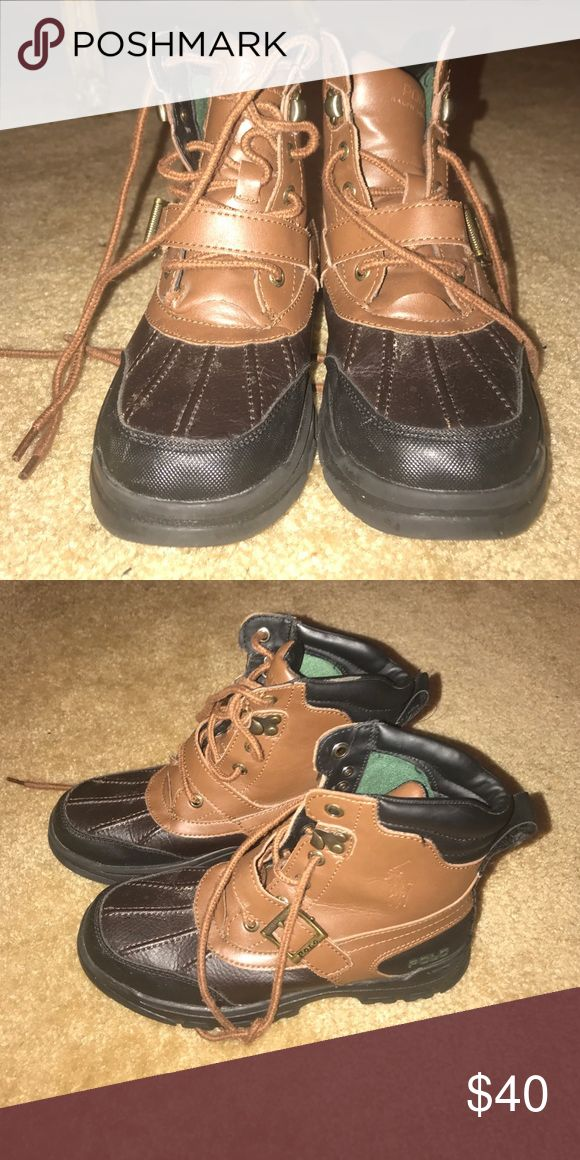 Polo boots must go women's 5 - kids 3y Polo by Ralph Lauren Shoes Winter & Rain Boots