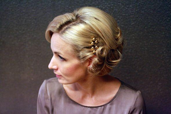 Syksyn 2012 hiustrendit – Lyhyiden hiusten arki- ja juhlakampaus – Anna&Ellit
