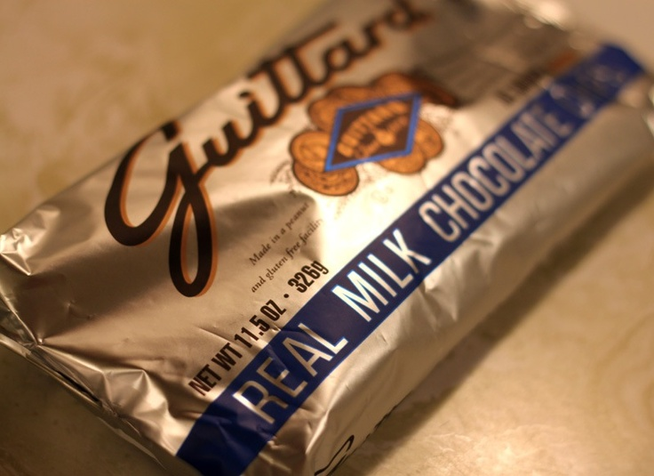 guittard chocolate chips -  my preferred chocolate chip when I can find them.