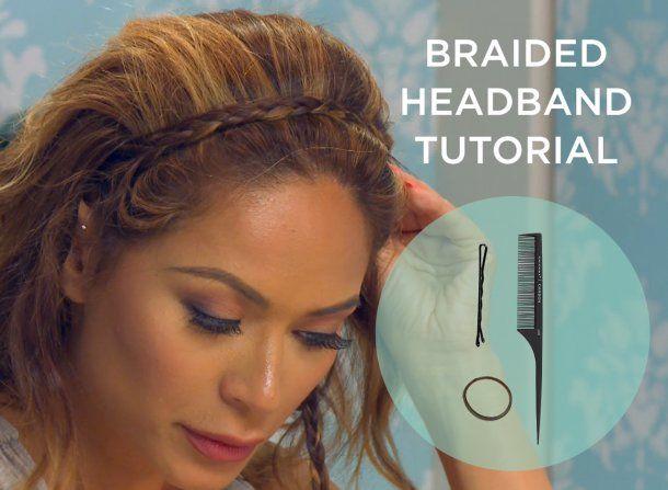 How to Do a Braided Headband