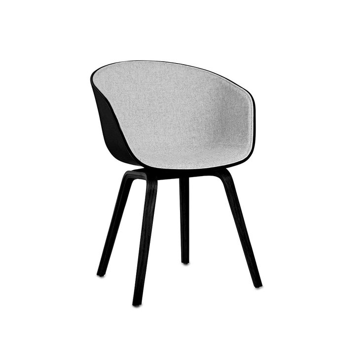 office chair conference dining scandinavian design aac22.  aac22 about a chair aac22 with front upholstery  black shell to office conference dining scandinavian design aac22