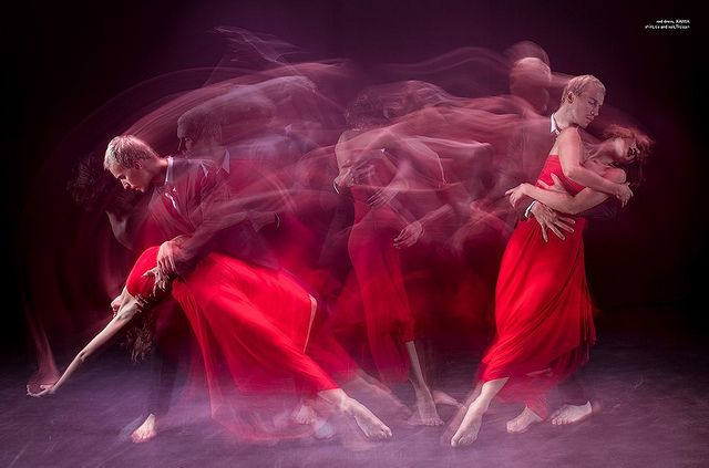 The red mistress by Von Wong, via Flickr