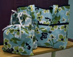 Gym Tote Bag Tutorial. Carry all your workout gear in style with this Gym Tote Bag Tutorial. This spacious DIY tote bag has handy zippered pockets and sturdy straps. This tote bag tutorial also includes instructions on how to sew a drawstring bag as well.