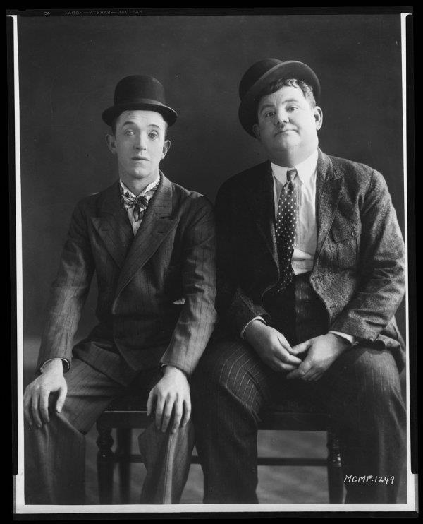 """""""People have always loved our pictures. I guess that's because they saw how much love we put into them."""" -- Stan Laurel"""