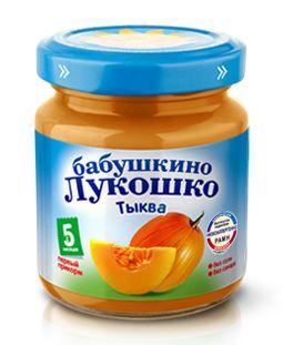 Пюре Тыква бабушкино лукошко 100гр. | Интернет-магазин детских товаров Карапузики