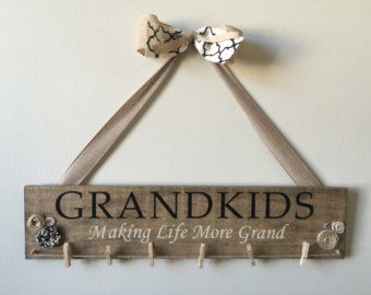 GRANDKIDS sign by fromOURhometoyoursVJ on Etsy