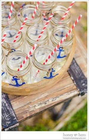 Nautical Party Theme Tons of Party Ideas @ www.partyz.co !