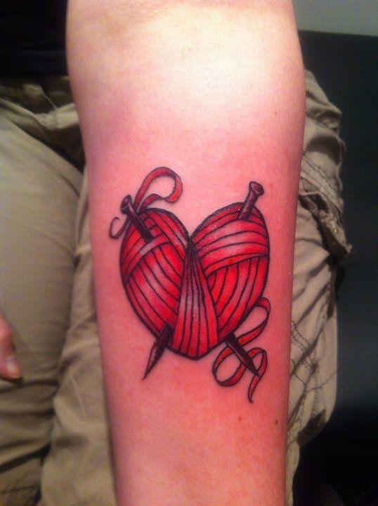 30 Tatuagens de costura e de tricô | Tinta na Pele