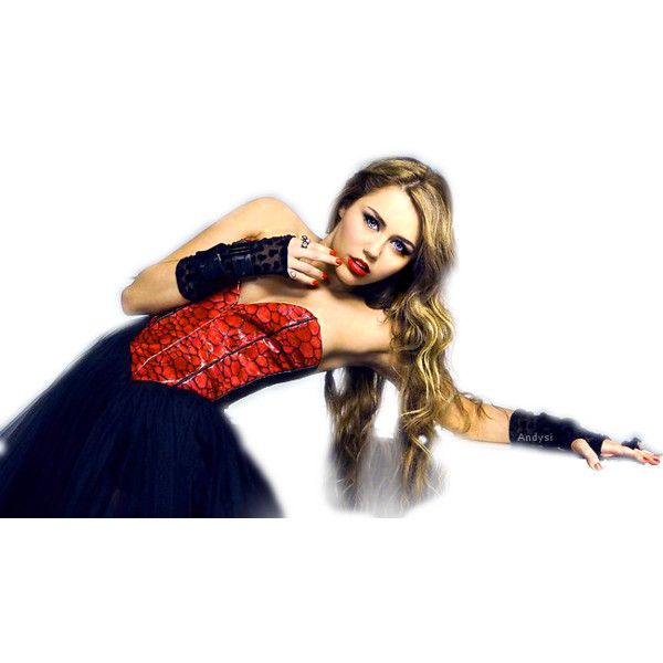 miley cyrus corazon gitano tour by Andysi .psd ❤ liked on Polyvore featuring miley cyrus, people, foto, miley and pictures