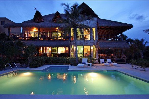 Cabinas De Baño Bello:casa se encuentra ubicada frente a las bellas aguas cristalinas de