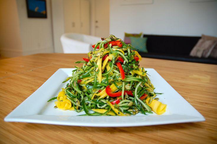 Cucumber Mango Salad | Danielle Levy