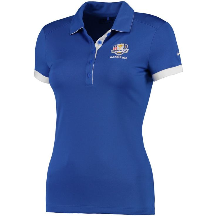Nike Golf Women's 2016 Ryder Cup Victory Colorblock Performance Polo - Royal