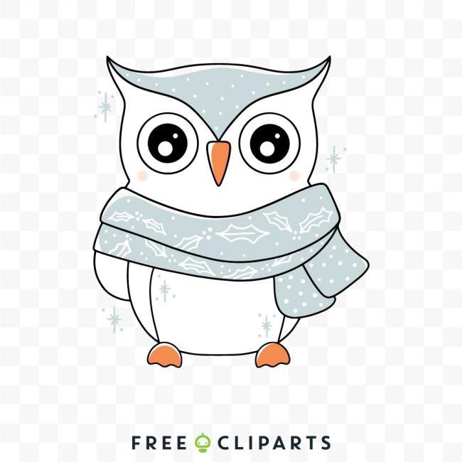 41+ Cute winter owl clipart information